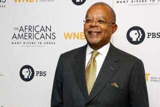 Henry Louis Gates Jr. attends the series premiere of The African Americans: Many Rivers to Cross at the Paris Theater in New York City.Astrid Stawiarz/Getty Images