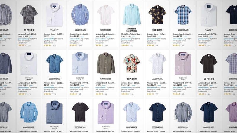 Amazon Brand Men's Shirt Sale   Amazon
