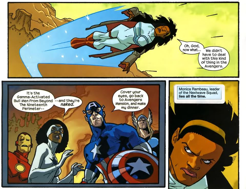 Nextwave (Team) - Comic Vine