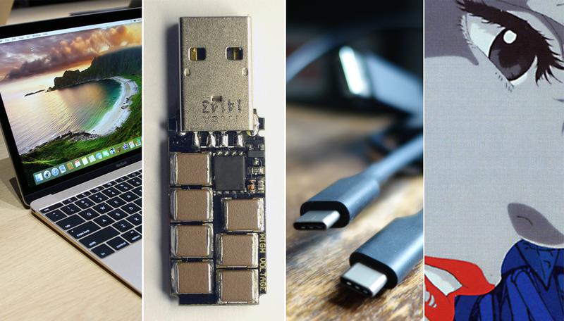 El oro de Apple, USBs-bomba y fotos inéditas, lo mejor de la semana