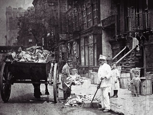 Here S What New York City Looked Like Before Quot Sanitation