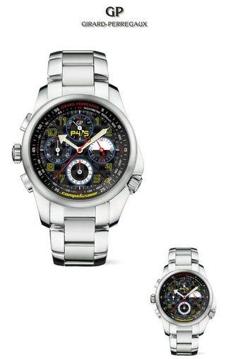 Illustration for article titled Ferrari P4/5 Competizione: The Watch