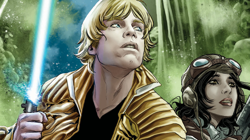 Star Wars: Screaming Citadel #1 art by Marco Checchetto.