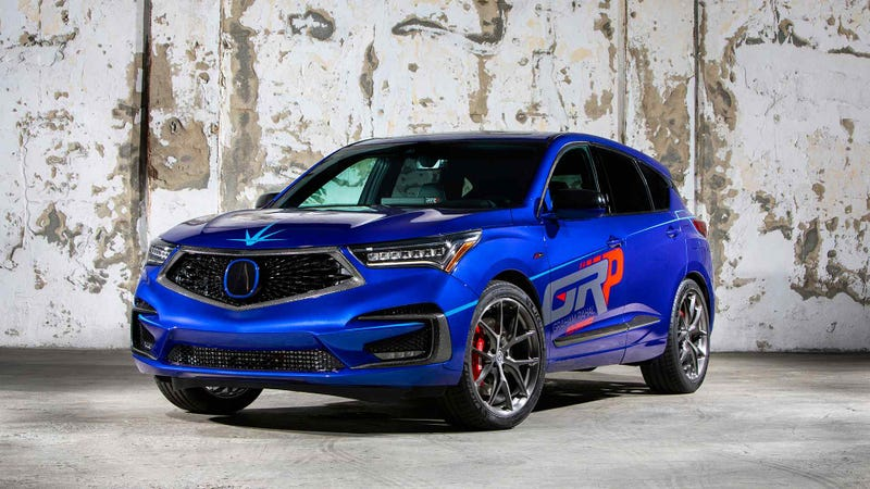 This Boring Acura Rdx Built For Sema Is Everything Wrong With Acura