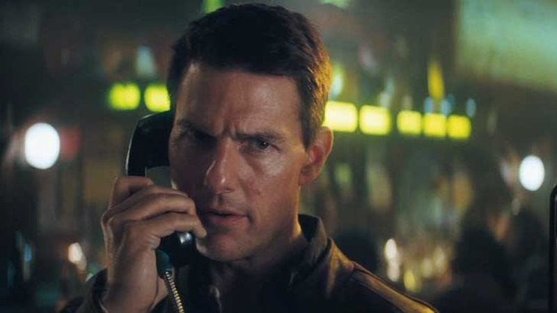 Illustration for article titled Tom Cruise's Jack Reacher falls short of sequel goal