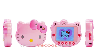 Illustration for article titled Hello Kitty Touchscreen Cellphone Great For Ages 5-6, and Morons of All Ages