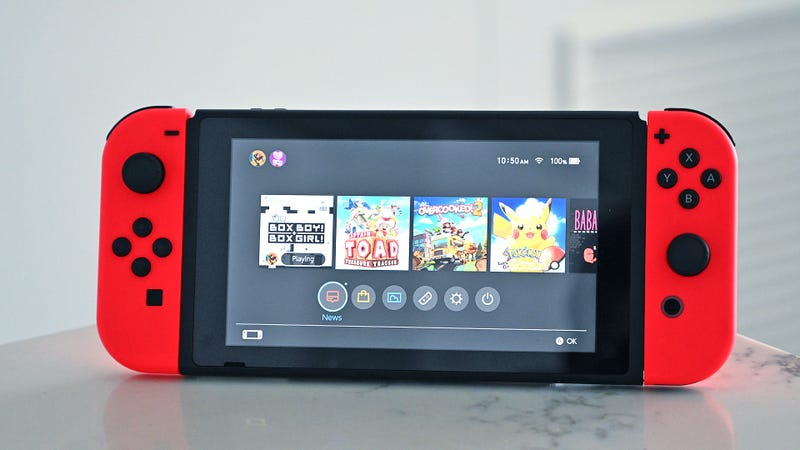 Illustration for article titled Nintendo Pushes Out New Switch Hardware Boasting Almost Double the Battery Life [Updated]