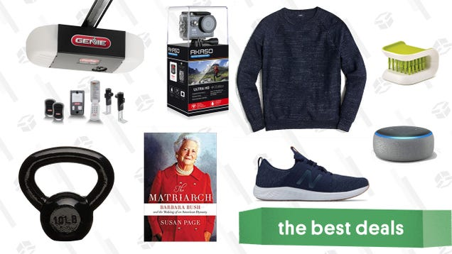 Sunday s Best Deals: New Balance Sneakers, AmazonBasics Kettlebells, Scrub Brushes, and More