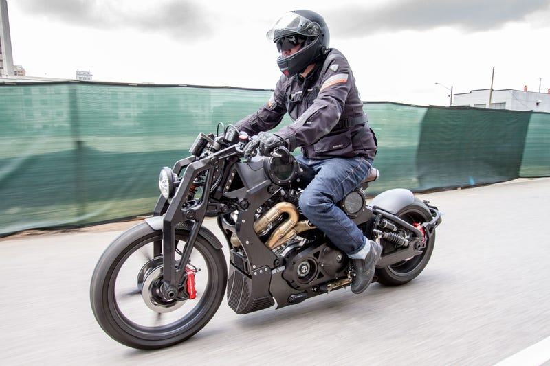 Wonderful Motrocycle #7: U201cPlease Donu0027t Drop It Please Donu0027t Drop It Please Donu0027t Drop It...u201d (Image  Credits: Confederate Motorcycles)