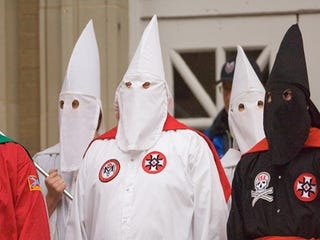 Illustration for article titled Ole Miss KKK Protest Goes Swimmingly