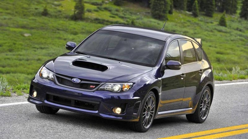 Illustration for article titled Every time I look at a WRX STi hatch, I feel a bit of regret