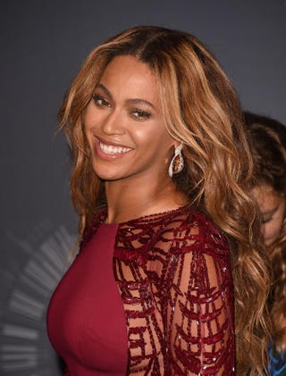Beyoncé poses during the 2014 MTV Video Music Awards at the Forum on Aug. 24, 2014, in Inglewood, Calif.Jason Merritt/Getty Images for MTV
