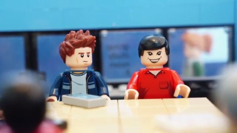 Illustration for article titled Get psyched for Community's sixth season with this Lego homage
