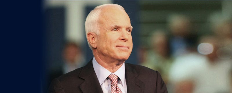 Illustration for article titled Sen. John McCain will no longer receive cancer treatments