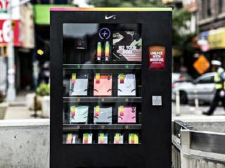 Illustration for article titled Nike Vending Machine Sells Goods For Fuelband Points