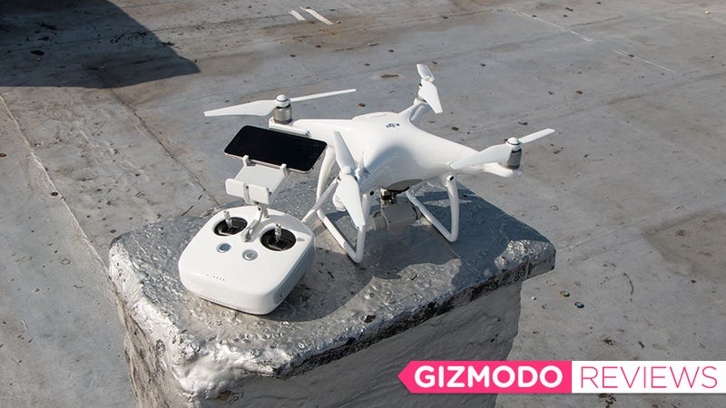 The DJI Phantom 4 Is A Slick Feature Packed Drone People Say Its That Anybody Can Fly Quadcopter You Just Cant Crash