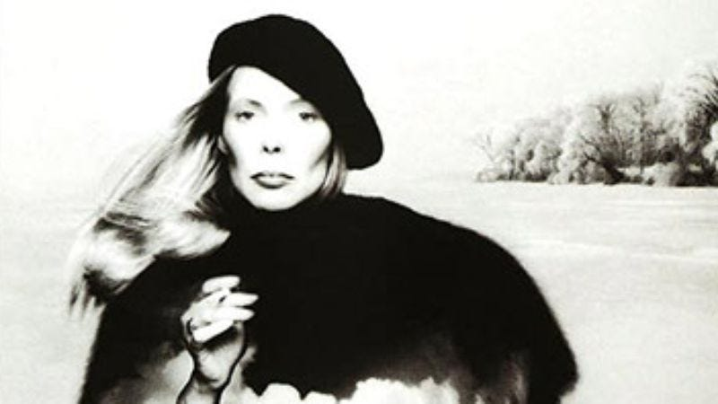 Illustration for article titled Joni Mitchell:Hejira