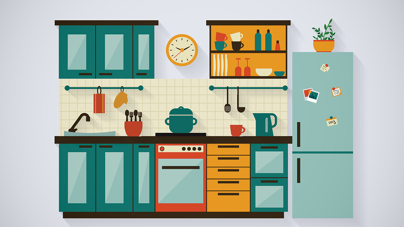 Illustration for article titled Can Kitchen Clutter Influence Your Appetite?