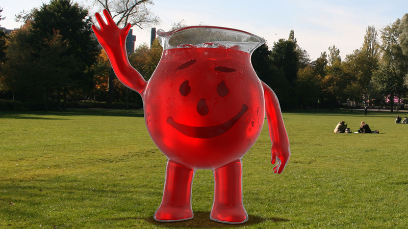 Illustration for article titled Kool-Aid Man Bursts Into the Future With a CGI Makeover