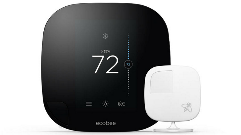 the latest smart thermostat knows when you 39 re away from home. Black Bedroom Furniture Sets. Home Design Ideas