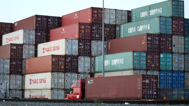 The Pandemic Fueled a Boom in Empty Ghost Shipping Containers Traveling the High Seas