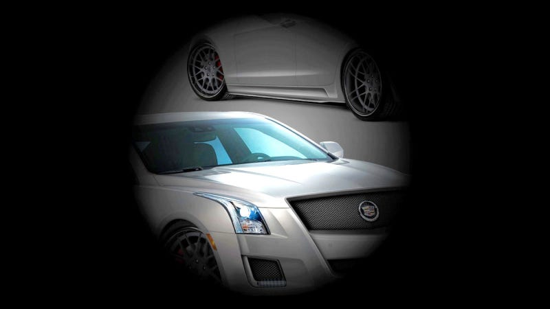 Illustration for article titled Is This Cadillac ATS The Brand's SEMA Surprise?