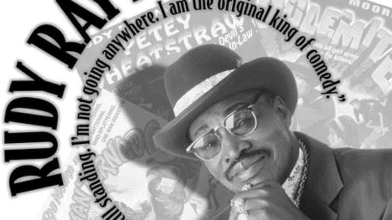 Illustration for article titled Rudy Ray Moore