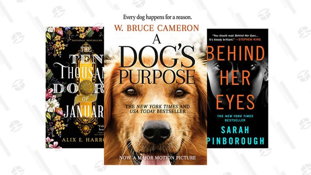 Save up to 80% on Top-Selling Kindle eBooks, Starting at $1