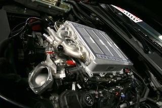 Illustration for article titled Cadillac CTS-V + ZR1 Supercharger = Fastlane's 630 HP CTS-VR1!