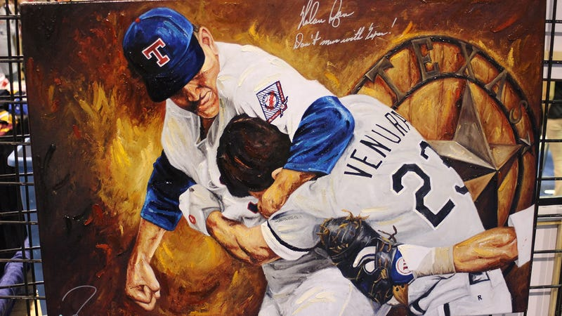 Illustration for article titled Which Baseball Fight Moment Would You Commission As A Work Of Art?