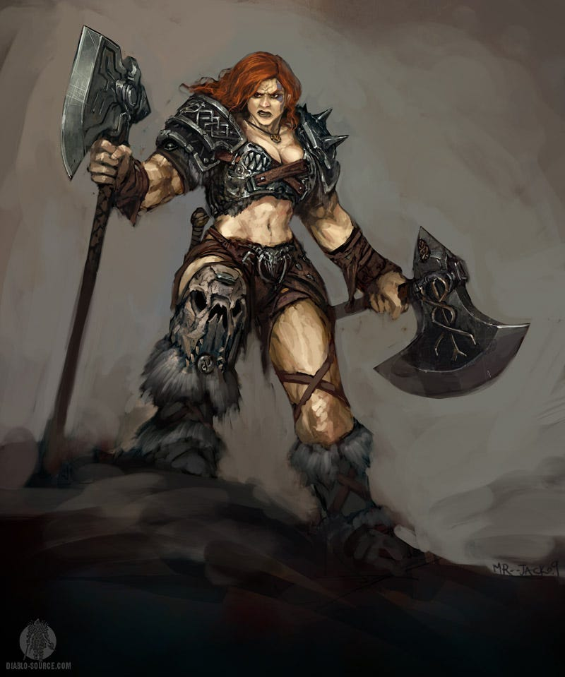 Illustration for article titled Barbarians Gallery