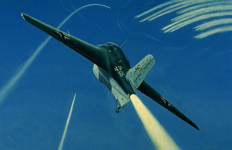 ME-163 Komet: First-generation rocket-fighter/interceptor.