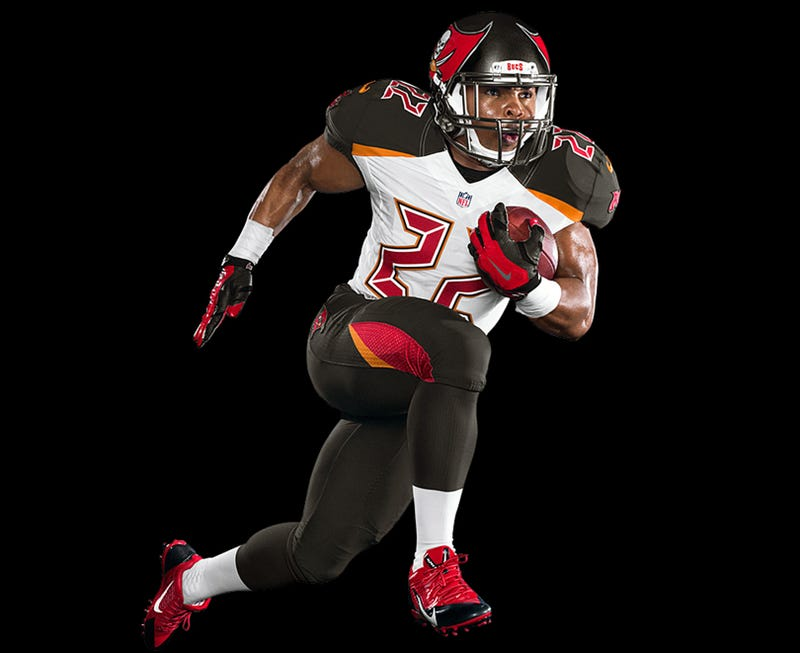 Illustration for article titled Tampa Bay Buccaneers Unveil New Uniforms [Update]