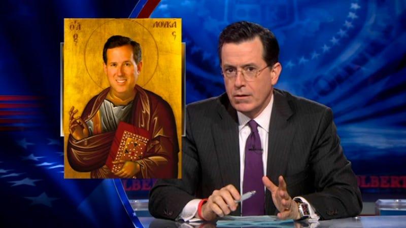 Illustration for article titled Stephen Colbert Reveals His Genius Plan to Start Giving Men Transurethral Ultrasounds