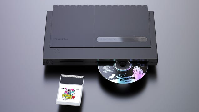Analogue s New Duo Console Reminds TurboGrafx Fans They re Not Forgotten