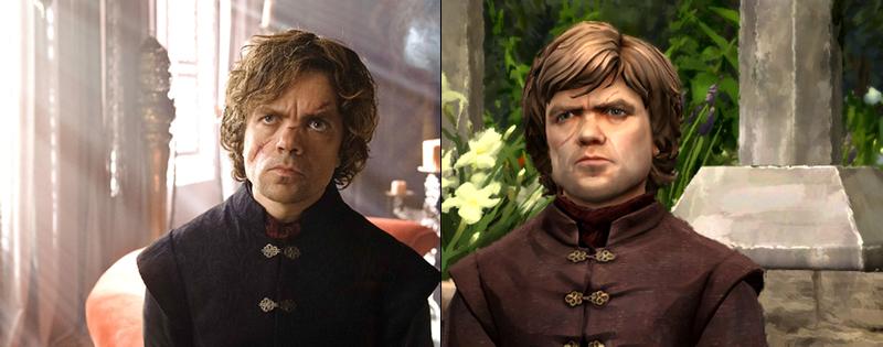 Illustration for article titled Juego de Tronos: los personajes del videojuego vs actores de la serie