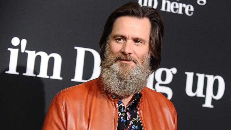 Producer Jim Carrey attends the premiere of I'm Dying Up Here at DGA Theater on May 31 in L.A. (Photo: Jason LaVeris/FilmMagic)