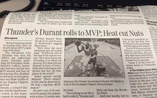 "Illustration for article titled Newspaper Headline: ""Heat Cut Nuts"""