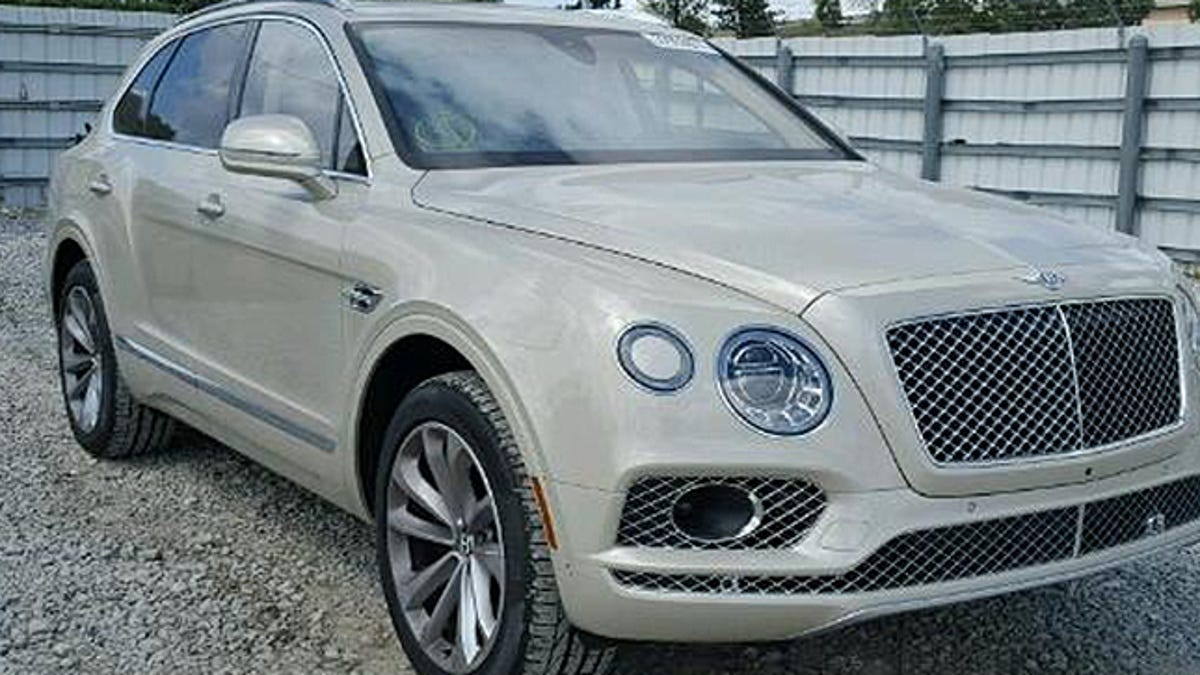 bentley quarter there dollar theres for million bentayg s sale at a auction salvage already bentayga