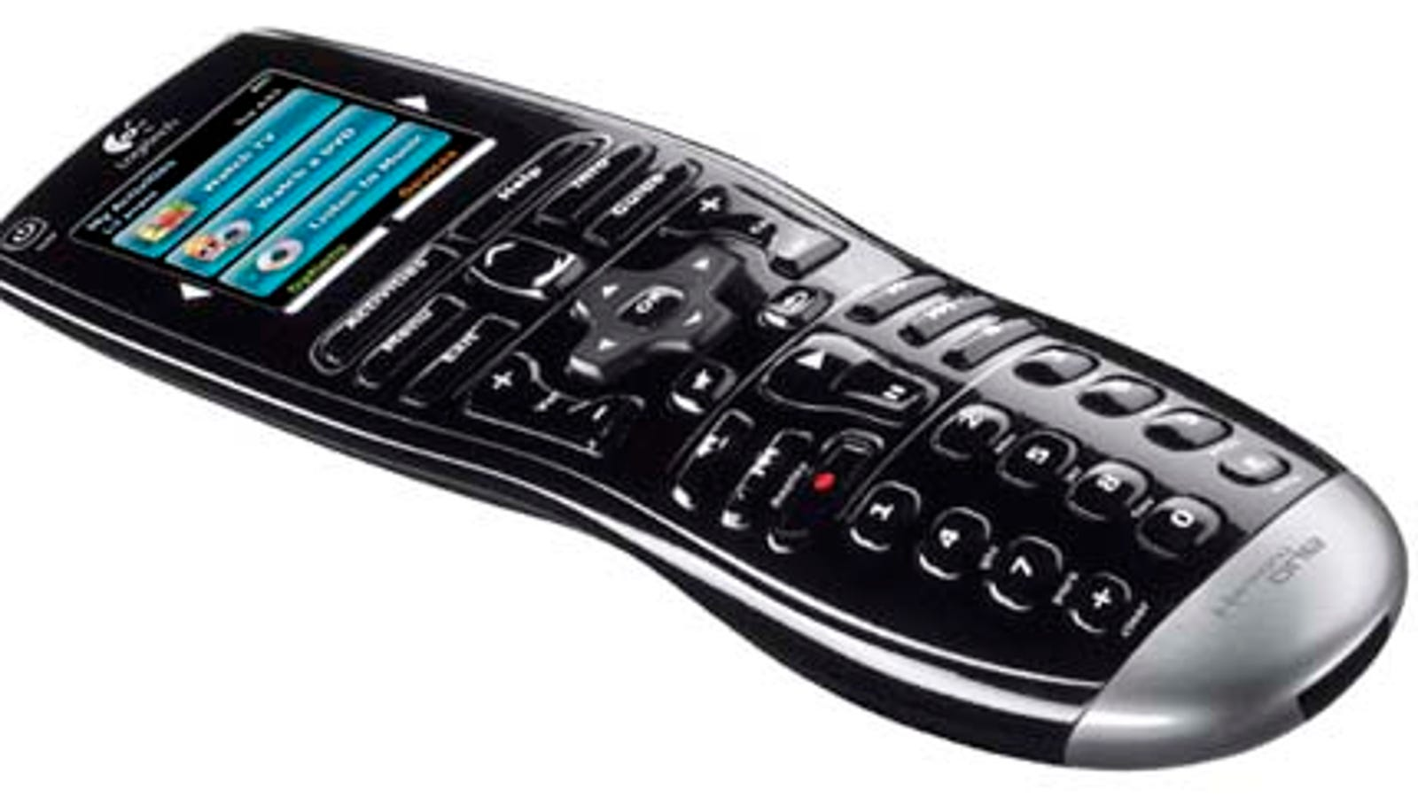 509ea966d2f Logitech Harmony One IR Remote Is Easy-Grip Capacitive-Touch Couch Buddy