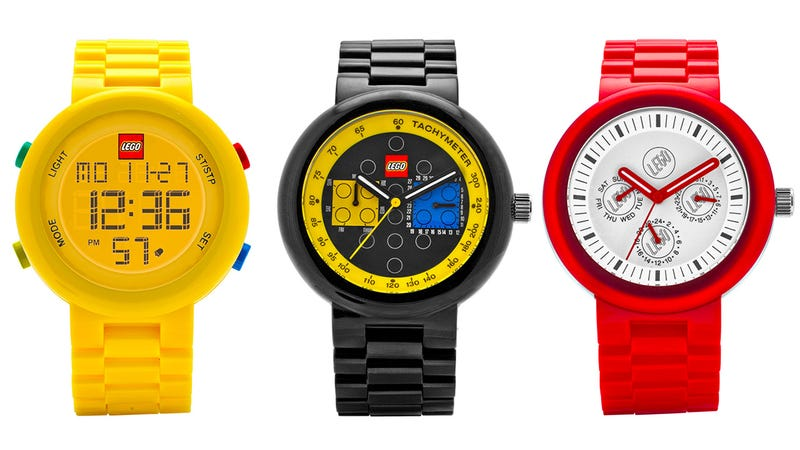 Illustration for article titled There's Finally Going to Be a Lego Watch Collection For Adults