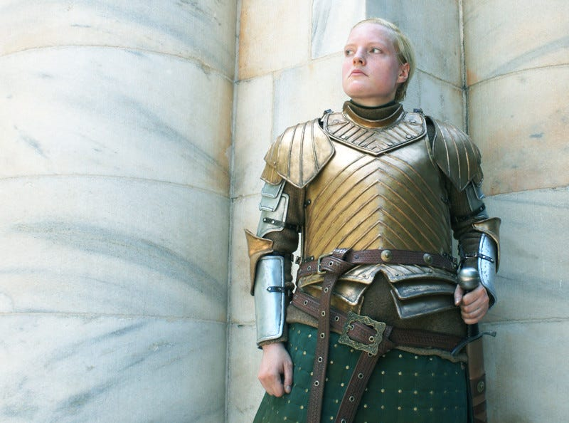 Illustration for article titled This excellent Brienne of Tarth Cosplay is simply wonderful
