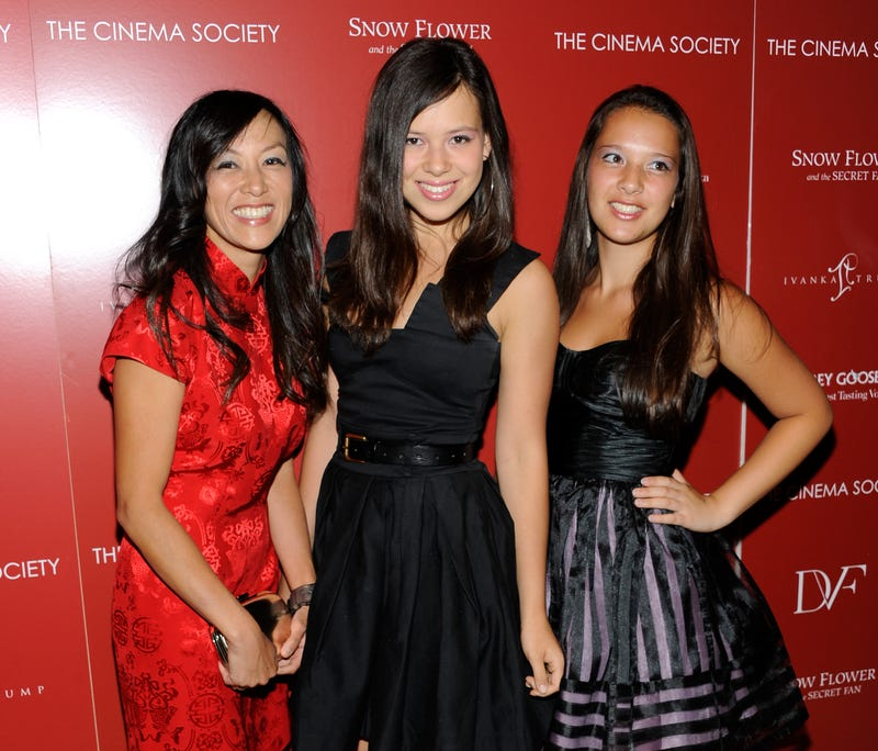 Writer Amy Chua, left, and daughters Sophia Chua-Rubenfeld and Louisa Chua-Rubenfeld on Wednesday, July 13, 2011 in New York.