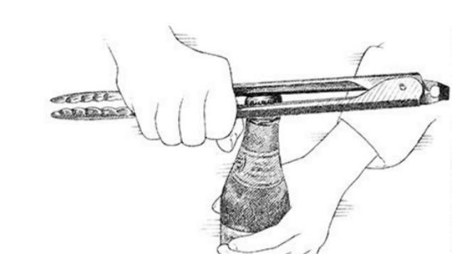 Use Kitchen Tongs to Open a Beer Bottle in a Pinch