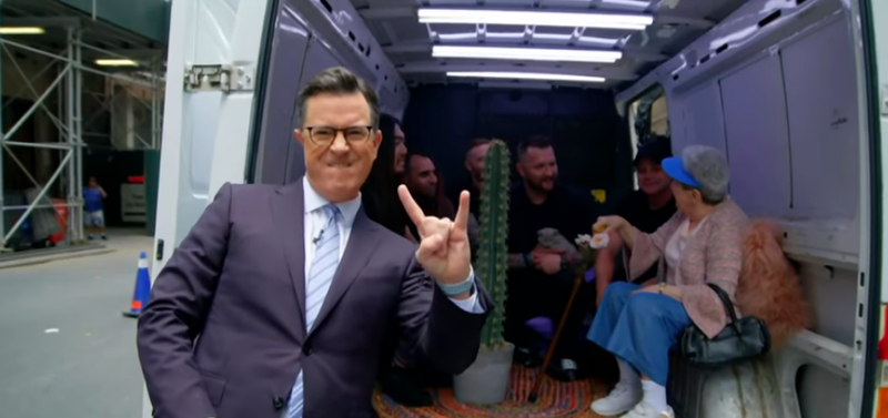 Stephen Colbert, Flaw, Flaw's new mom