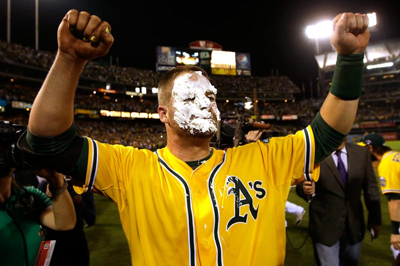 Illustration for article titled Stephen Vogt Is Your Newest Unlikely Postseason Hero