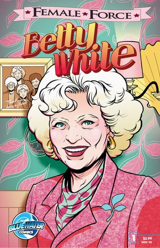 Illustration for article titled Betty White The Latest Star To Get Comic Book Treatment