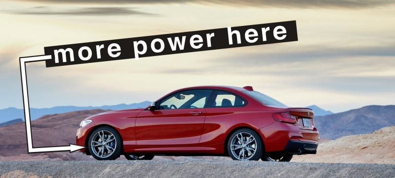 Illustration for article titled BMW M235i Will Get AWD, Future Rallycross Drivers Rejoice