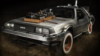 Illustration for article titled Delorean from Back to the Future III sells for $541,200