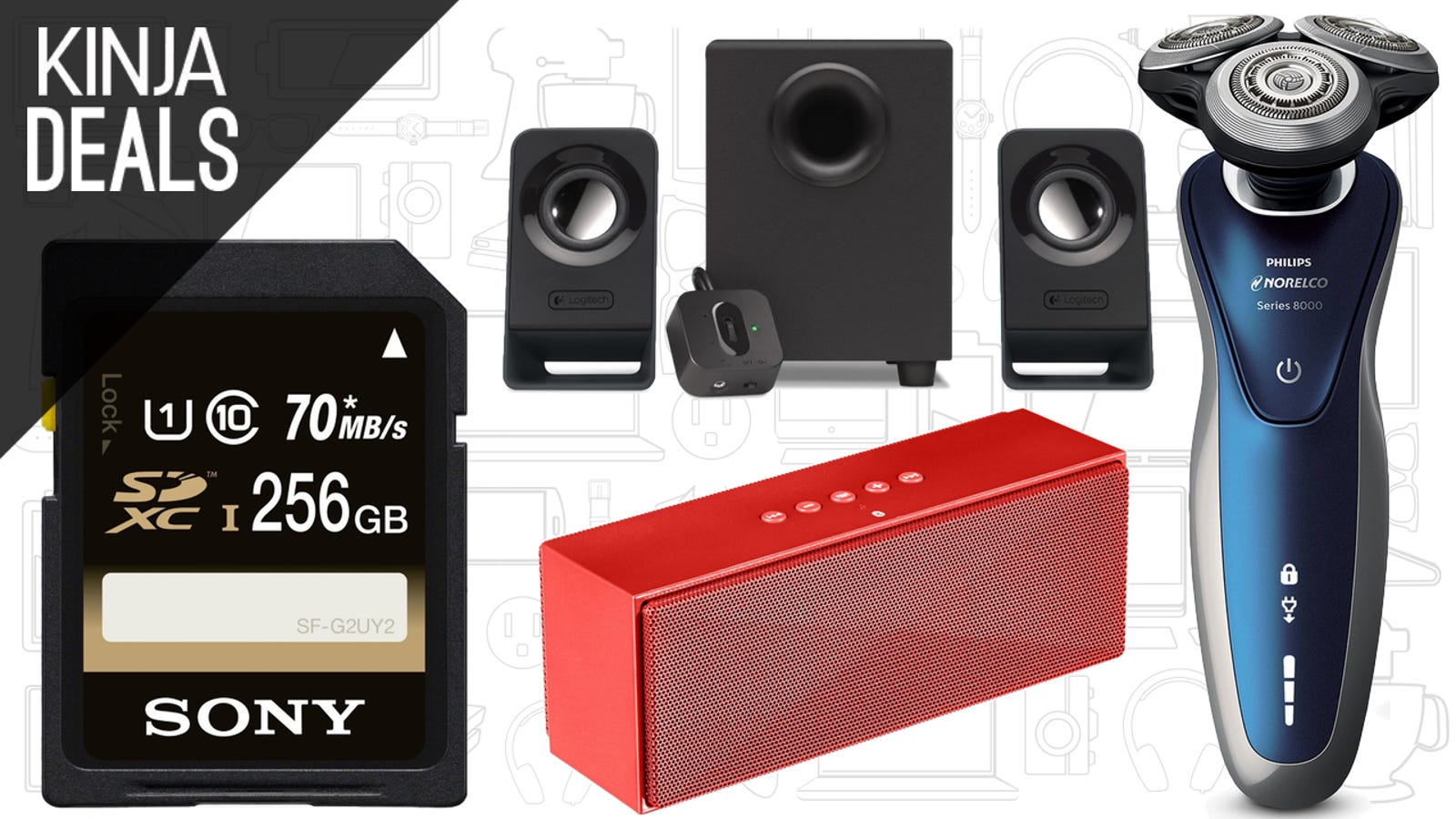 Todays Best Deals Flash Storage Cheap Speakers Starbucks Gift Logitech Multimedia Speaker Z213 Original Card And More